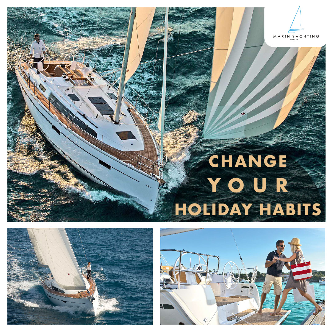 Marin Yachting change your holiday habits